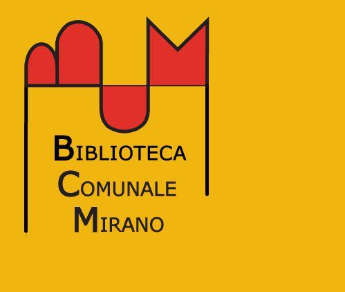 Biblioteca Comunale di Mirano (VE) Logo di Oreste Sabadin (2003)