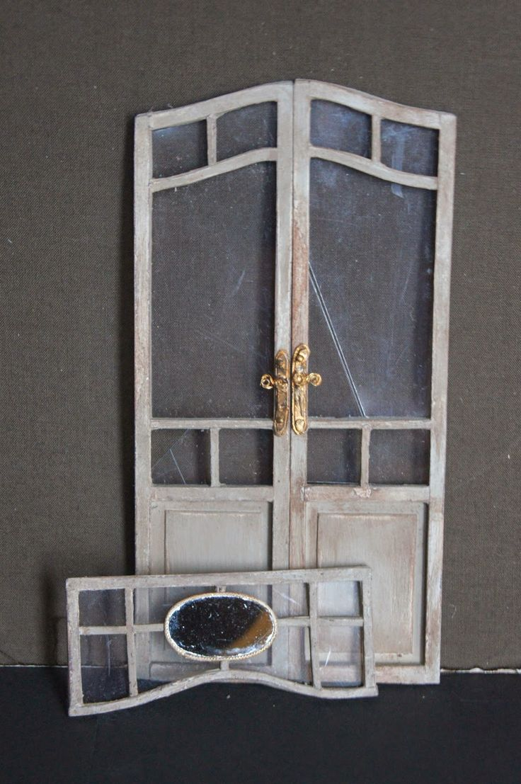 1000 Images About Dollhouse Windows Amp Doors On Pinterest