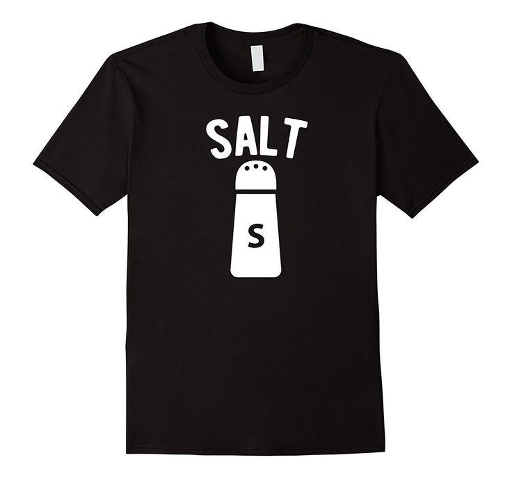 Salt - Salt And Pepper Matching Halloween Costume T-Shirt