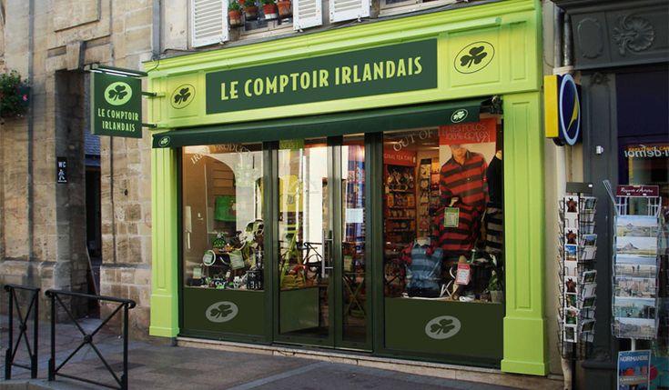 7 best magasins en france images on pinterest shops diners and restaurant - Comptoir irlandais angers ...
