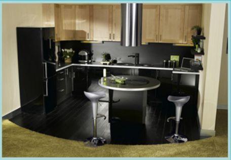 Am nagement petite cuisine 12 id es de cuisine ouverte for Regle amenagement cuisine