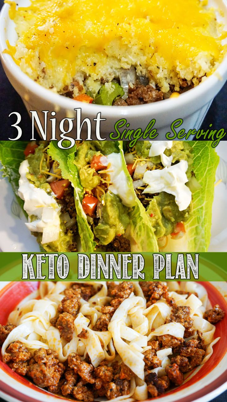 Single Serve Keto Dinners! | KetoConnect Recipes ...