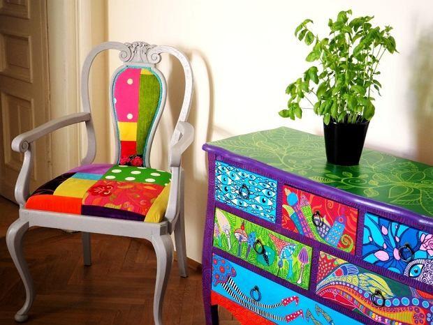 Zdjęcie numer 28 w galerii - Polski projekt: ręcznie malowane meble od Art PoPo