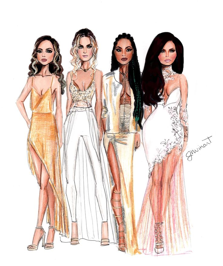 Little Mix looking stunning at Brits 2016 credit, this is incredible!