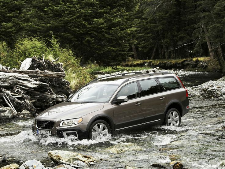 The Volvo XC70 is a beast of a machine that can take on almost any off-road obstacle but it's also a great daily driver. It's jam-packed with safety features and there's enough cargo room to stuff all your outdoor gear.