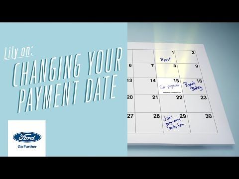 How Do I Change My Payment Date?