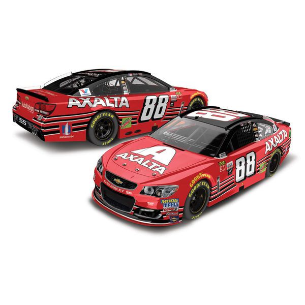 For Brad: Dale Earnhardt Jr. Action Racing 2017 #88 Axalta Homestead 1:24 Monster Energy NASCAR Cup Series Die-Cast Chevrolet SS