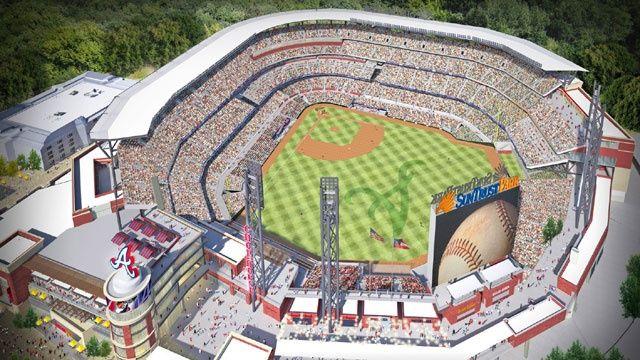 Braves Suntrust Park, opening 2017 > Atlanta, GA