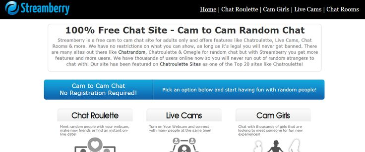 Random chat dating site