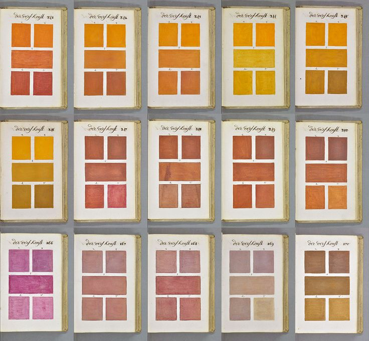 271 years before pantone an artist mixed and described every color imaginable in an 800 - Painting Color Book