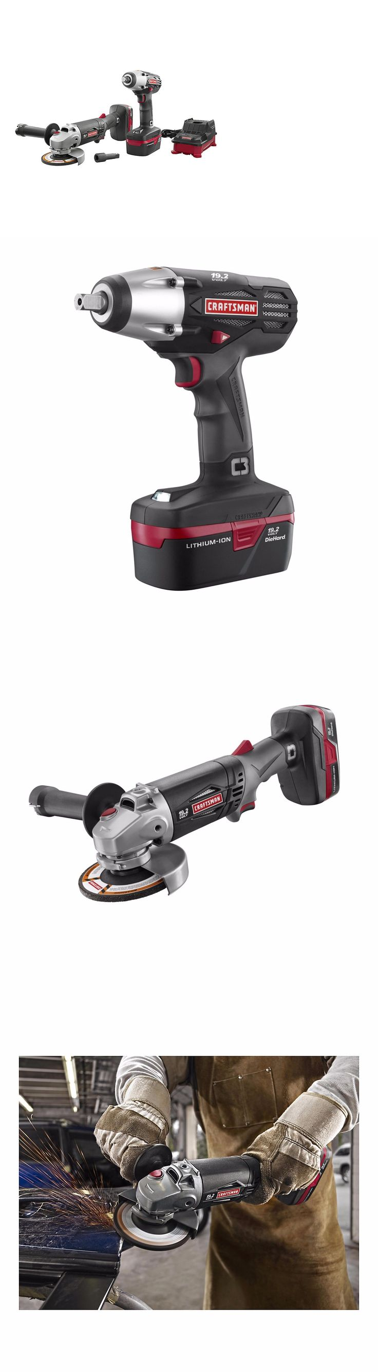 tools: New Craftsman C3 Lithium-Ion 1/2 Impact Wrench And Angle Grinder Kit -> BUY IT NOW ONLY: $124.99 on eBay!