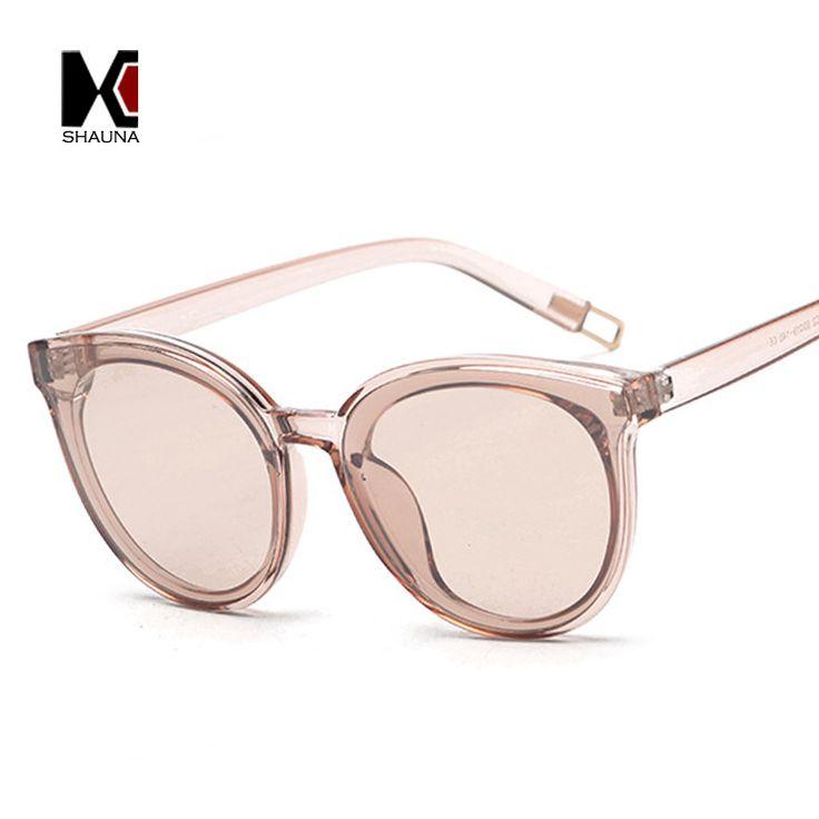 $5.68 (Buy here: https://alitems.com/g/1e8d114494ebda23ff8b16525dc3e8/?i=5&ulp=https%3A%2F%2Fwww.aliexpress.com%2Fitem%2FSHAUNA-2017-Spring-Summer-Styles-Fashion-Women-Cat-Eye-Sunglasses-Brand-Designer-Ladies-Candy-Color-Tint%2F32788373298.html ) SHAUNA 2017 Spring Summer Styles Fashion Women Cat Eye Sunglasses Brand Designer Ladies Candy Color Tint Lens Glasses for just $5.68