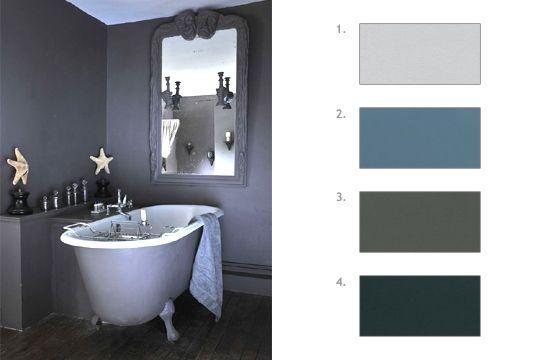 Nuancier gris nuancier pinterest d co sombre et couleur - Repeindre un couloir sombre ...