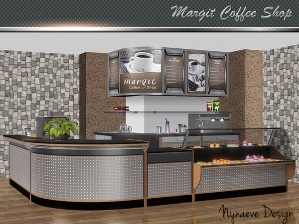 Margit Coffee Shop furniture and objects by NynaeveDesign - Sims 3 Downloads CC Caboodle