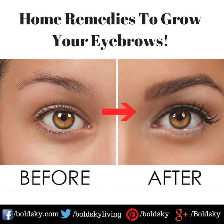 Have a look at these best home remedies to grow eyebrows ...