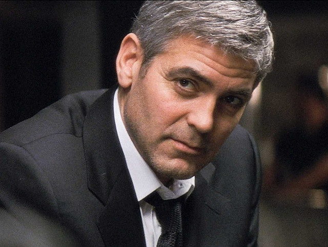 George Clooney: Gray Hair, Chairs, Photo, Legally Movie