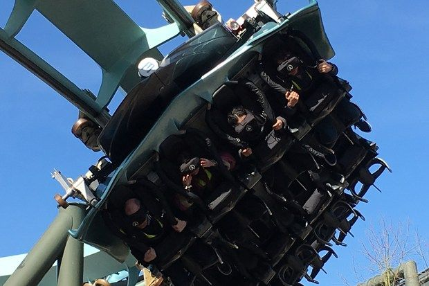 Galactica at Alton Towers: What it's like to ride a VR rollercoaster (Wired UK)