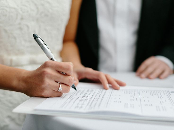 How to Get a Marriage License | Photo by: Lens CAP Productions | TheKnot.com