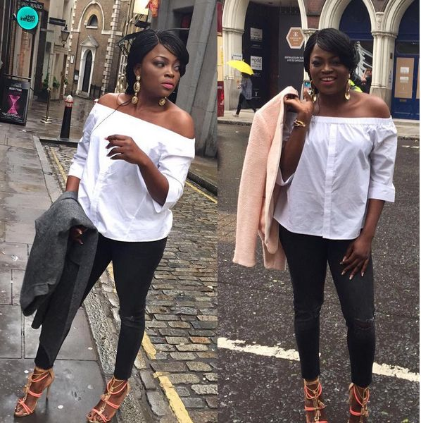 Koko Level's Blog:Breaking News Entertainment In-depth In Nigeria: Funke Akindele Ayotunde look stylist  in her steps...