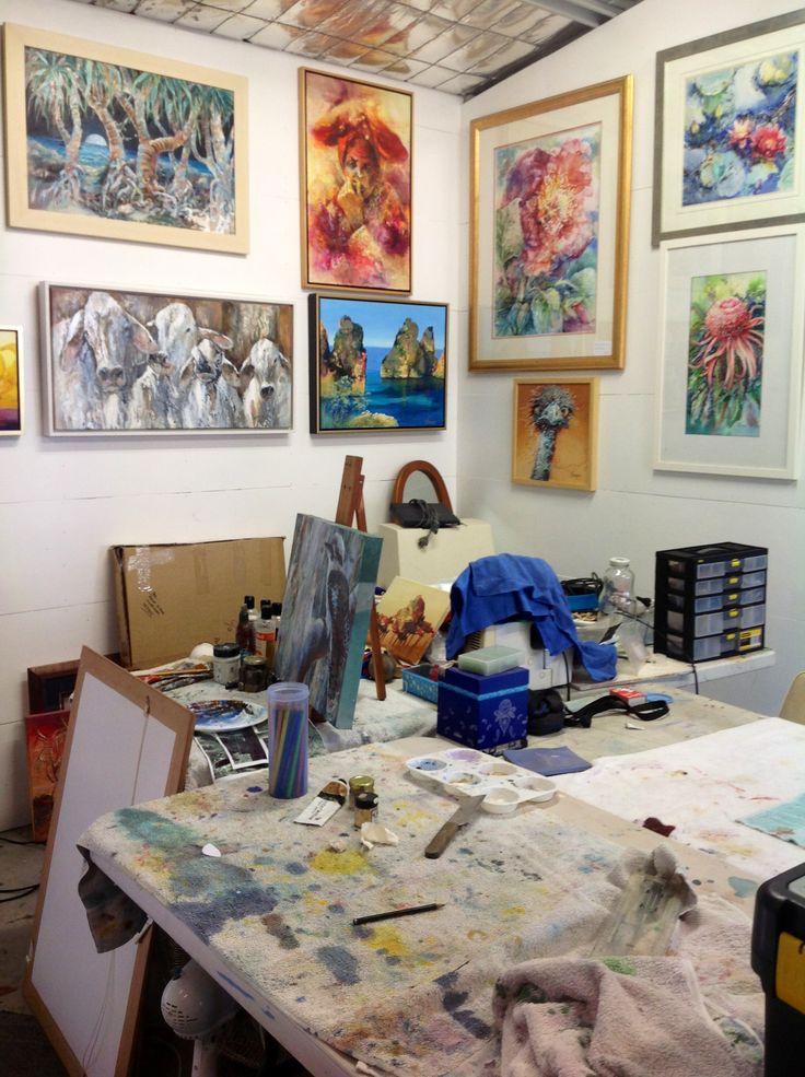 Art studio of Judy Pomroy