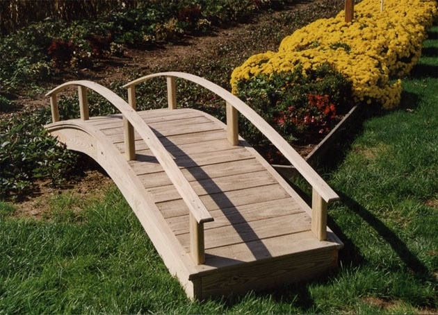 13 Curated Wooden Bridge Ideas By Leannebullock Gardens