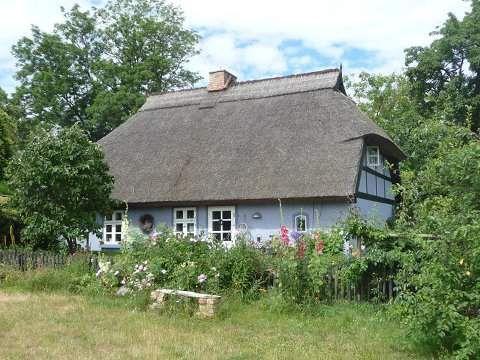 Ferienhaus in Quilitz: Ursprüngliche Dörfer im Usedomer Hinterland.