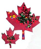 Crafts: Canada Day Maple Leaf Pattern Decorating Ideas - Kaboose.com