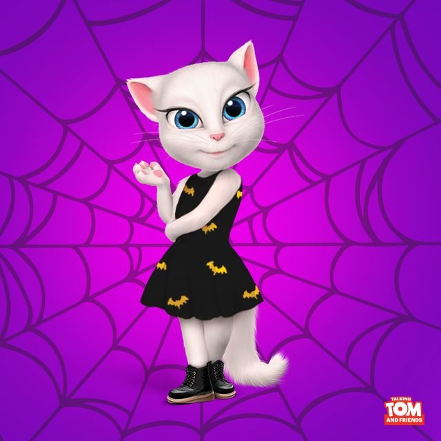 Guess what this week's all about!!! I'm so excited!! xo, Talking Angela #TalkingAngela #MyTalkingAngela #LittleKitties #Halloween #happy #trick #treat #love #cute #happy #pumpkin #celebrating