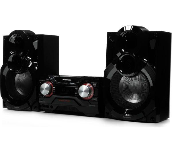 PANASONIC SC-AKX400EBK Wireless Megasound Hi-Fi System - Black