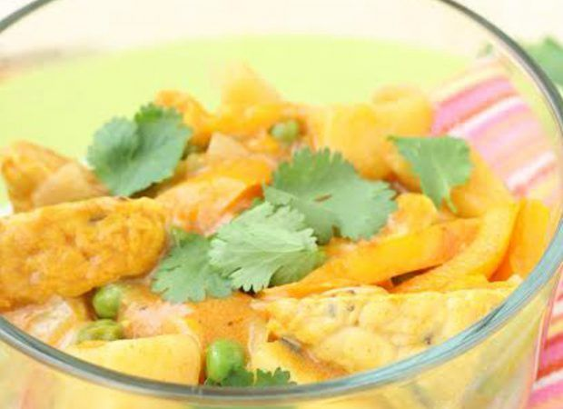 Curry Coconut Tempeh 2 cups Water 1 can Native Forest® Classic Coconut Milk ½ cup Onion (diced) ½ cup Carrot (diced) 2 cups Cubed tempeh ½ tsp Turmeric 1 tsp Salt 1 Tbsp Curry paste ¼ cup Let&#8217…