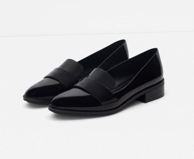 from bestproducts.com | 10 Best Men-Inspired Loafers for Women | Zara Antik Loafers