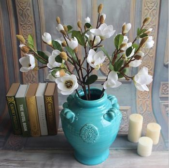 The 7 best artificial flowers magnolia images on pinterest art gnw fl ma65 4 7cm wholesale cheap artificial flowers silk magnolia flowers mightylinksfo