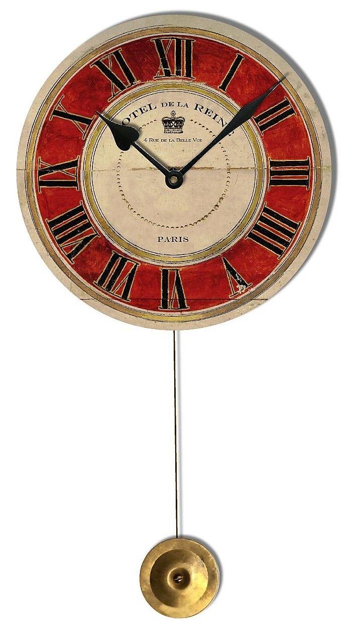 yellow-roses-timeworks-petite-wall-clocks