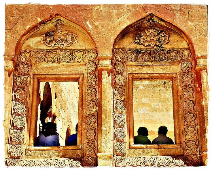 Pencere ishak Paşa Sarayın'dan