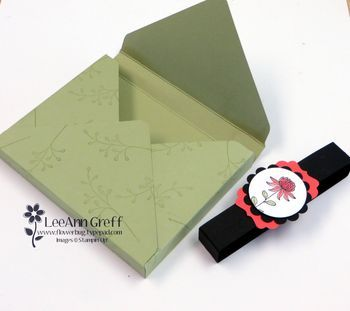 A2 Envelope Punch Board Card Box