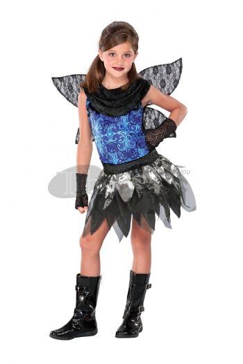 Halloween Costumes blue elf skirt