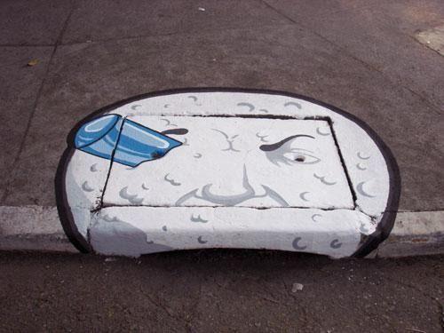 Arte en los desagües de San Pablo