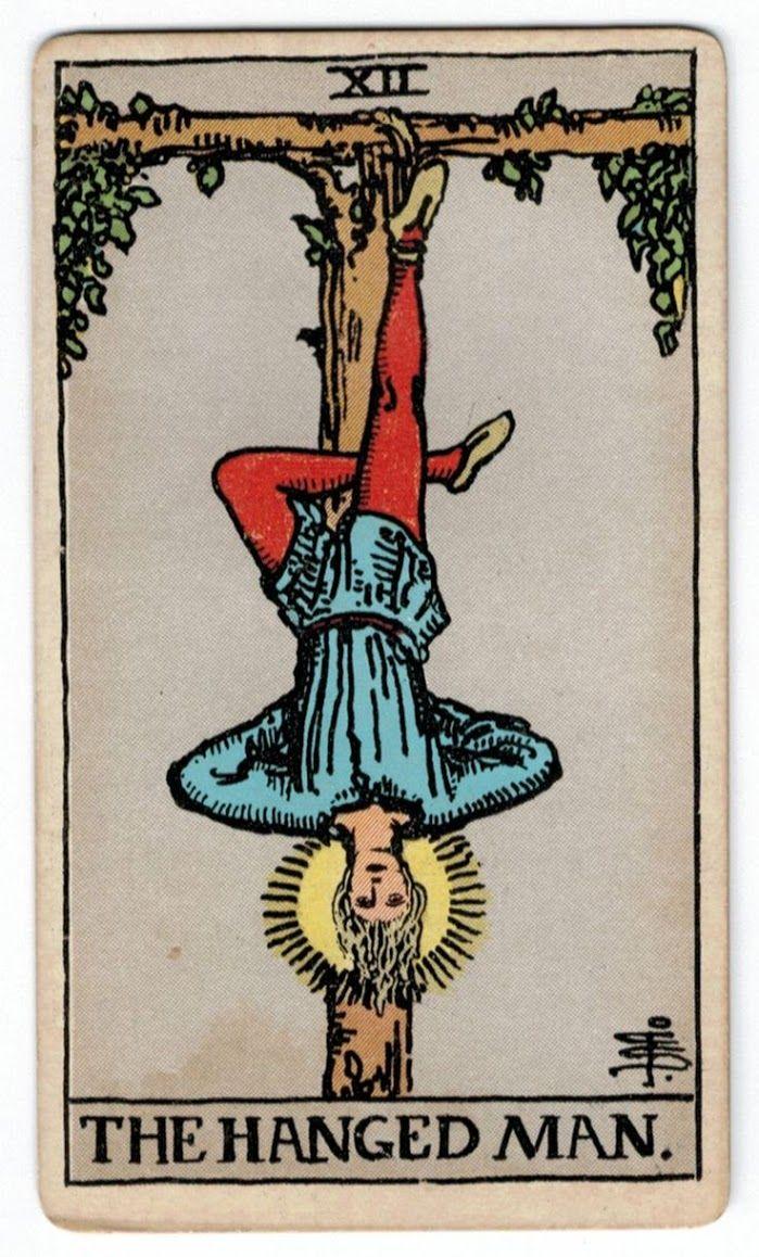 The Hanged Man Predictive Tarot Card Meanings: Tarot Card Meanings - Major Arcana
