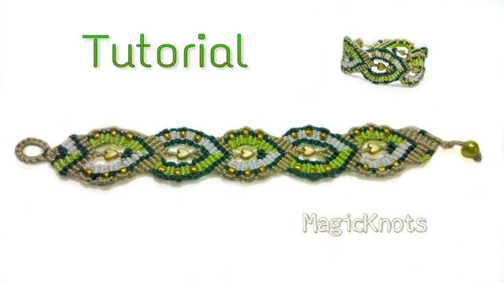 Micro Macrame Circles Bracelet ♥ DIY ♥