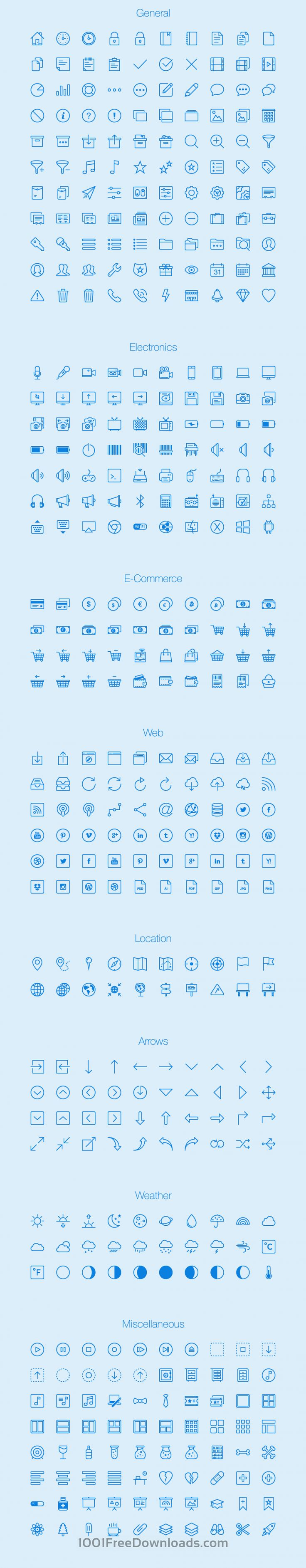 Free Vectors: Lynny Icons - Full | Ai, Eps, Png | (2.9 MB) | 1001freedownloads.com