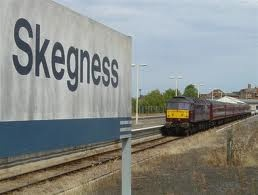 Coming into Skegness Station