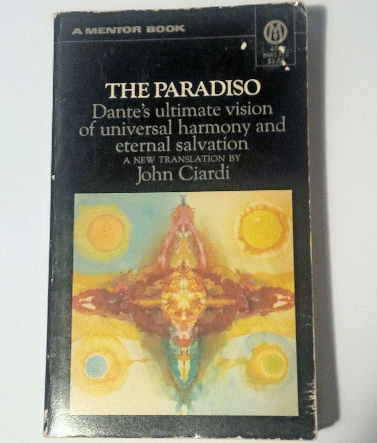 #Poetry Book -The Paradiso- Dante's Divine Comedy #3 Ciardi Translation #Medieval