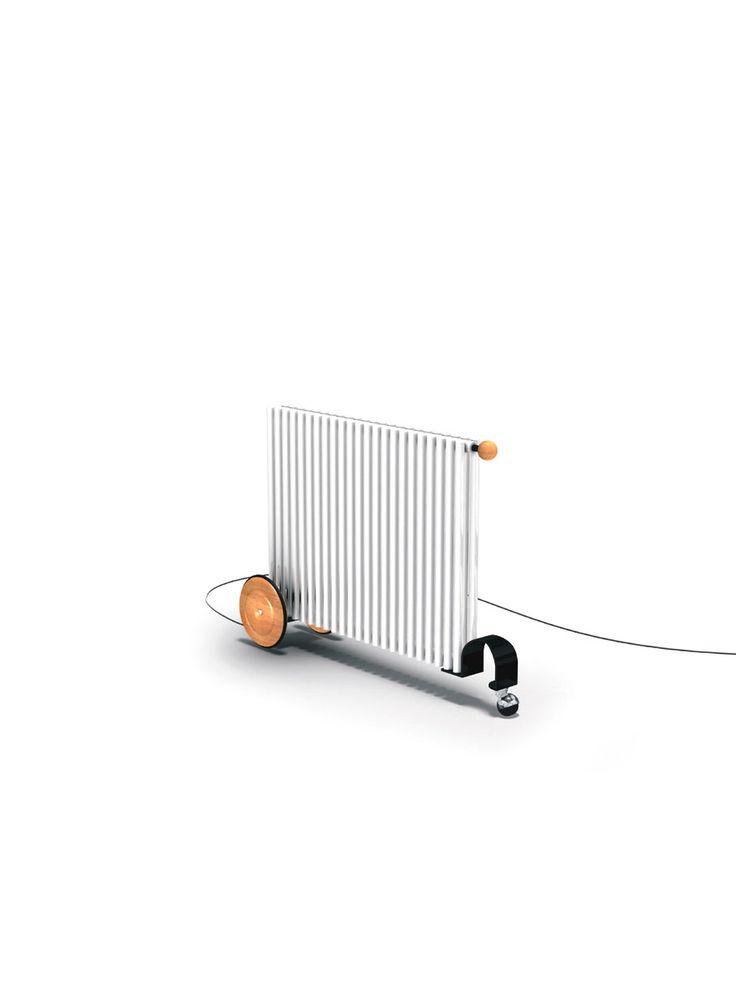 Le radiateur design VD 4508 est un radiateur design portatif réalisé avec des éléments tubulaires en acier de 24 ou 25 mm. C'est un modèle électrique. ...