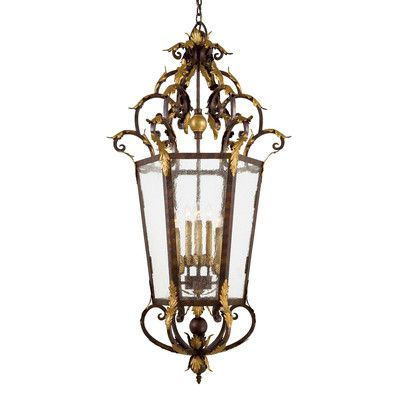 Metropolitan by Minka Zaragoza 8 Light Foyer Pendant