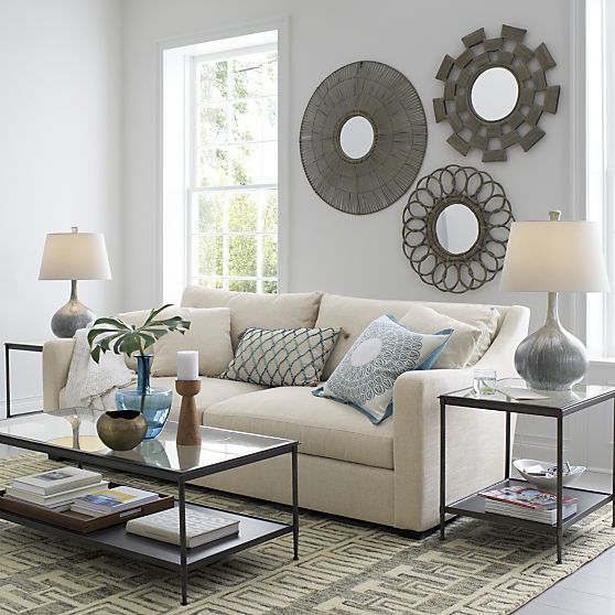 Kyra Coffee Table in New Furniture | Crate and Barrel
