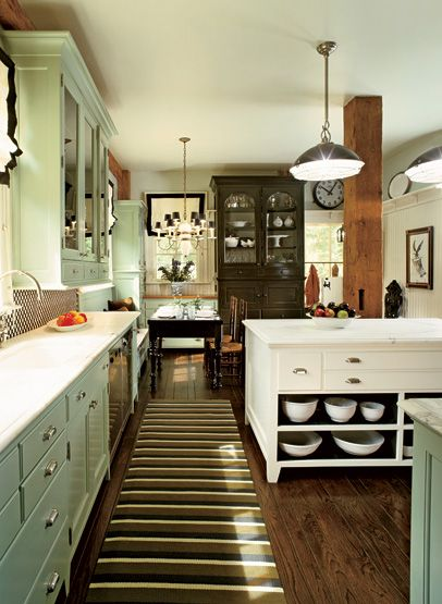 want to make pies in this kitchen.