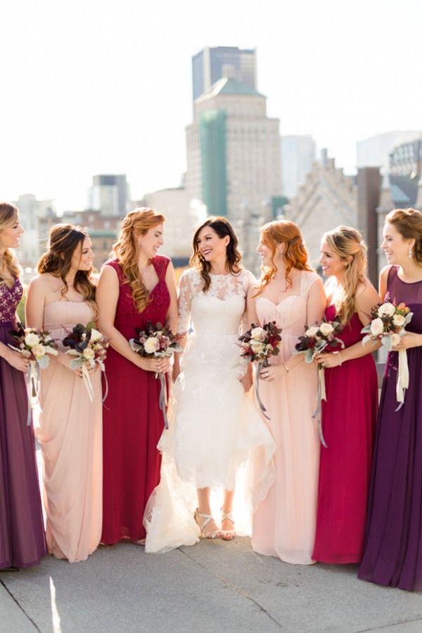 Photographe de mariage | La mariée et ses filles d'honneur