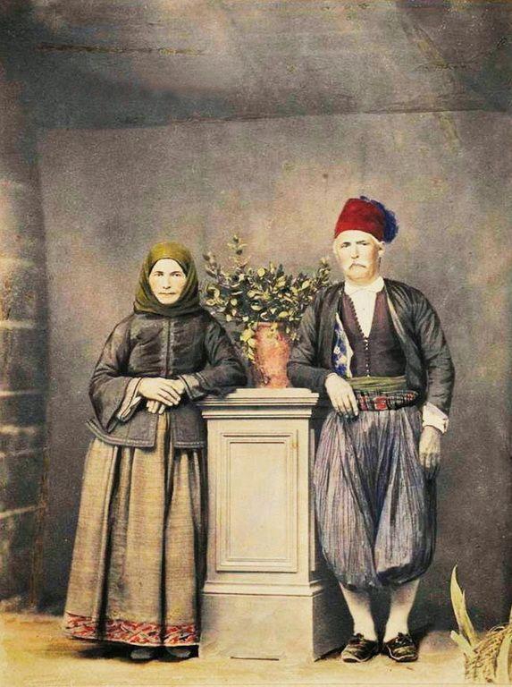 Παραδοσιακιές φορεσιές, 1850