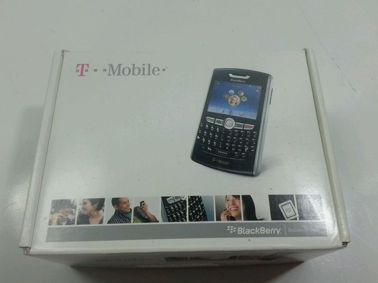 BlackBerry 8800 - Black T-Mobile Smartphone in box #BlackBerry #Bar