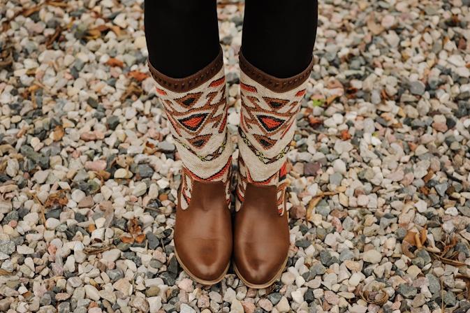 Navajo Print Boots. I want those!!
